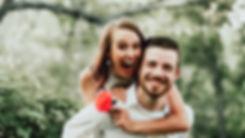 Lindt Hochzeiten Paar im Wald
