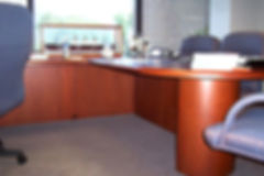 after photo of a tidy office