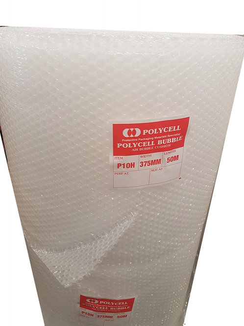 Bubble Wrap P10  375mm wide x 50 metre roll