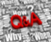 Q & A  symbol where when why words