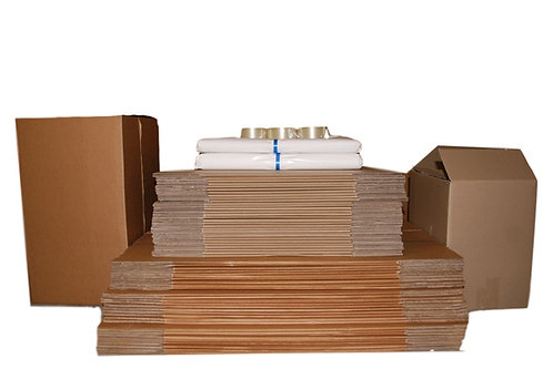 Bundle 5B 60 Boxes 30/30 boxes 10kg paper tape dispenser and tapes