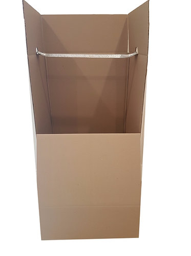 Port A Robe ONLY (Wardrobe box) - No hanging rail included  600 x 476 x 1100 mm