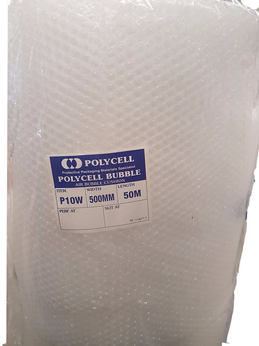 Bubble Wrap 500mm x 50 metre roll