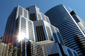 tall buildings in a city