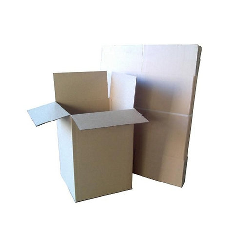 Tea Chest 104Lt Twin Wall (10 per pack) 431 x 406 x 596 - 8mm thickness