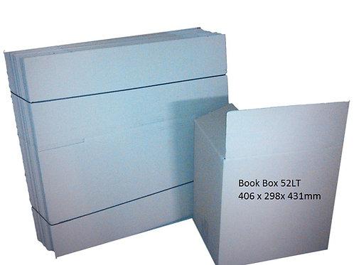 Medium Book Box 52 lt box (sold in packs of 10 or more)