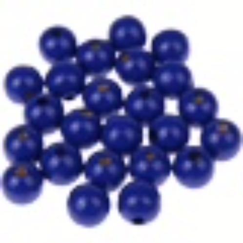 50 perles rondes marine