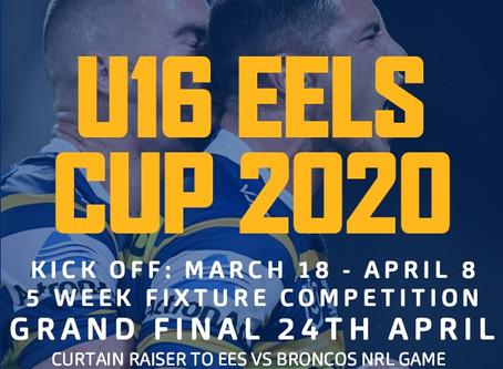 COACH SHARP NAMES MERIT TEAM IN LEAD UP TO EELS CUP CAMPAIGN