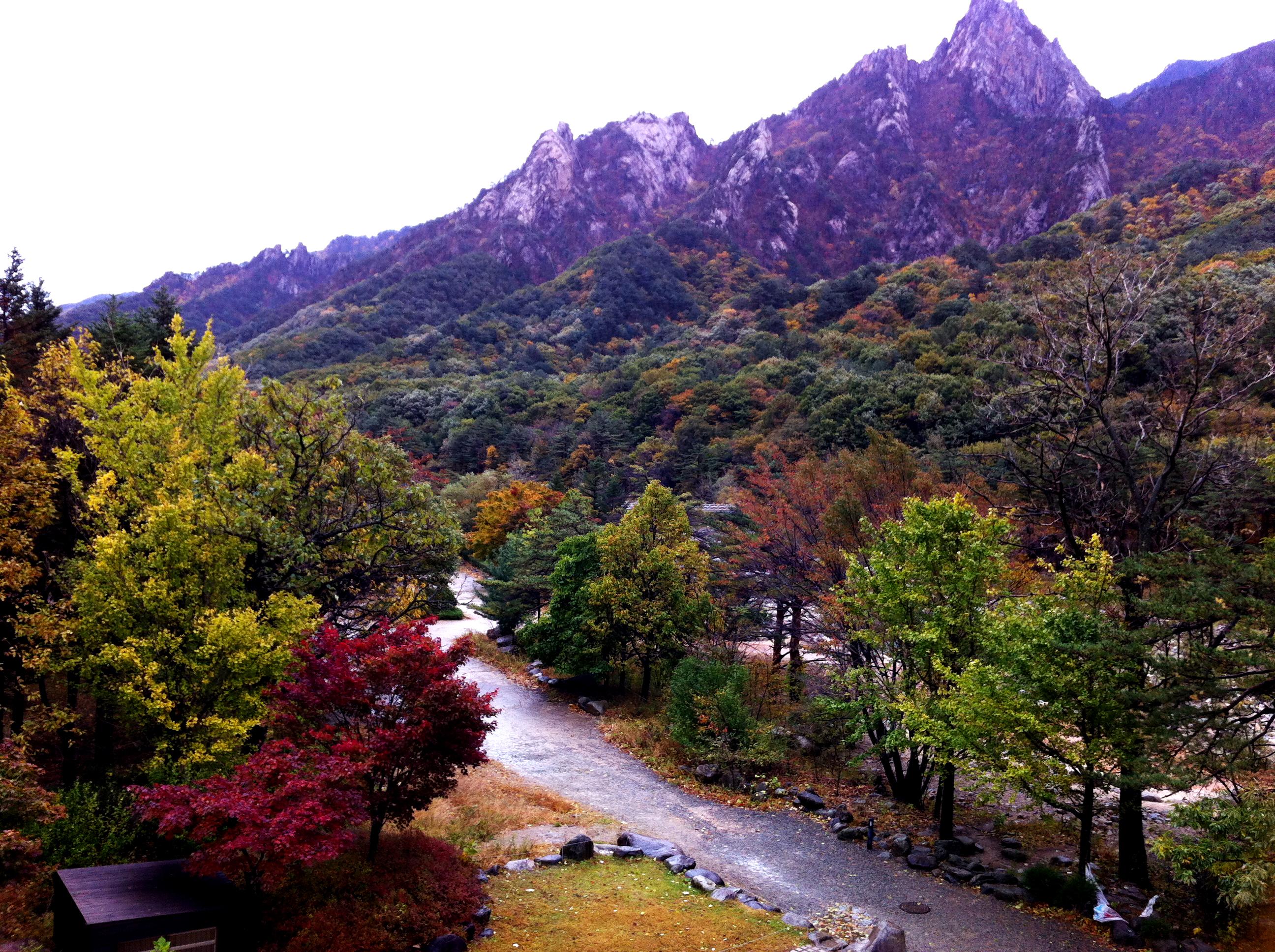 설악동 가을풍경