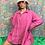 Thumbnail: Vintage Oversized Pink Shirt