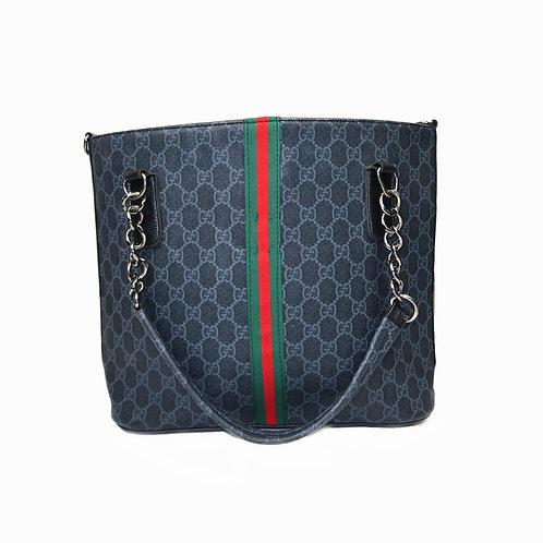 Bootleg Monogram Gucci Handbag With Tape