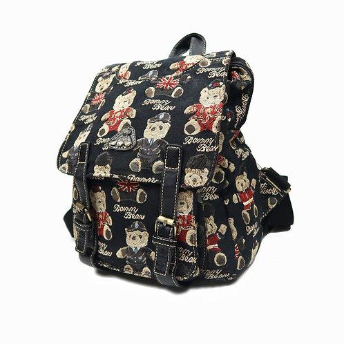 Vintage Danny Bear Buckle Backpack