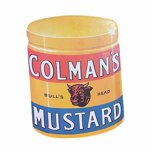 Vintage Colman's Mustard Plaquard