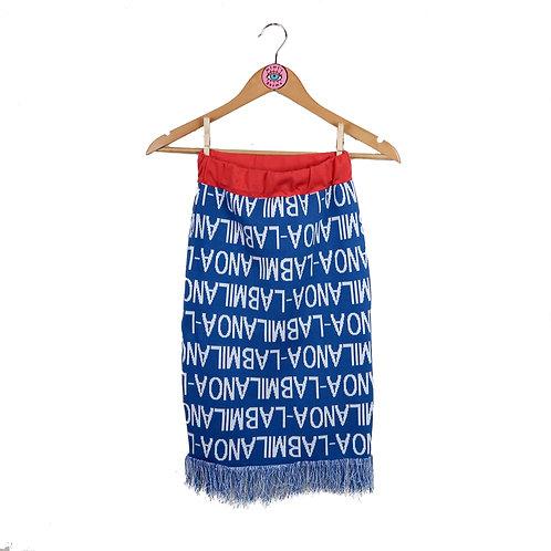 A-Lab Milano Rare Tassle Monogram Skirt
