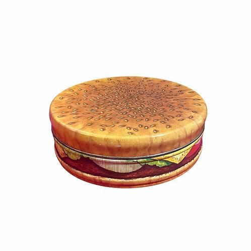 Vintage Burger Storage Tin