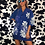 Thumbnail: Trespass Floral Blue Shirt