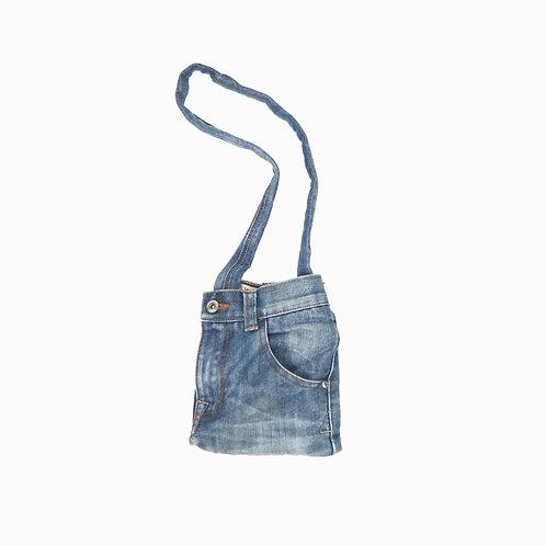 Vintage Mini Upcycled Denim Bag