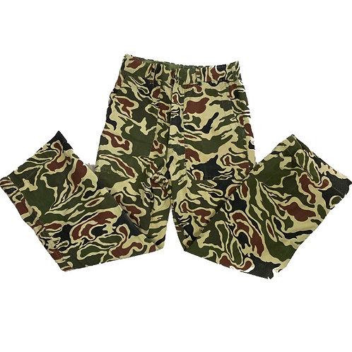 Khaki Green Army Camo Pants