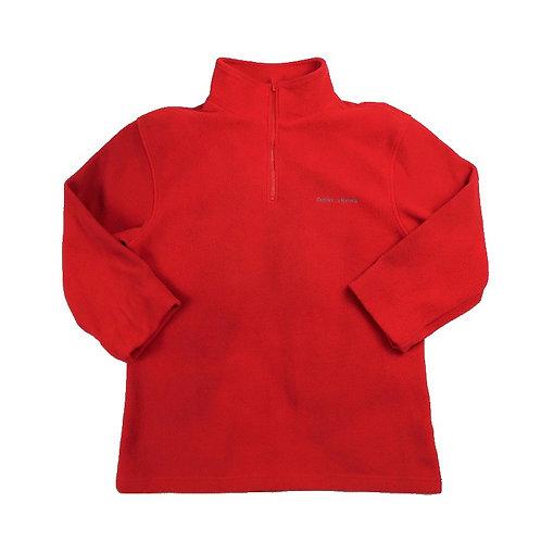 Vintage Red DKNY Women's Fleece