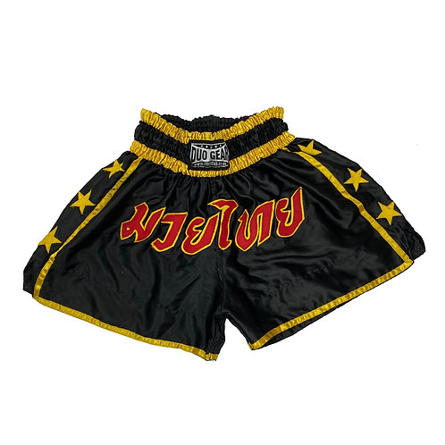Vintage Retro Muay Thai Boxing Shorts