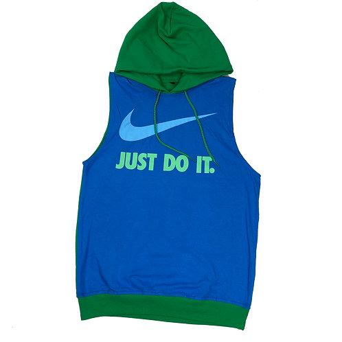 Vintage Retro Nike Hooded Vest