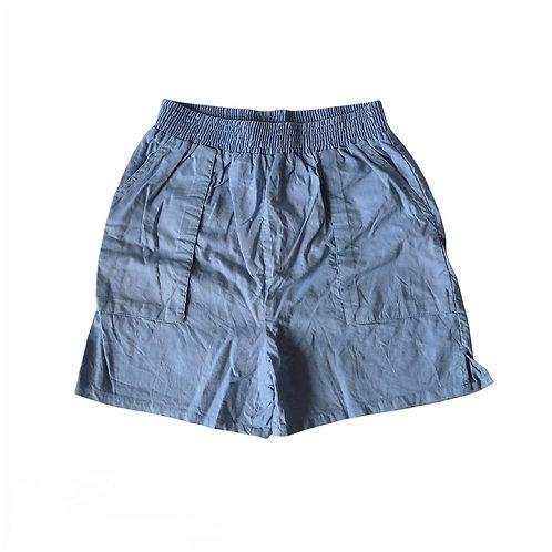 Vintage Retro Blue Cargo Shorts