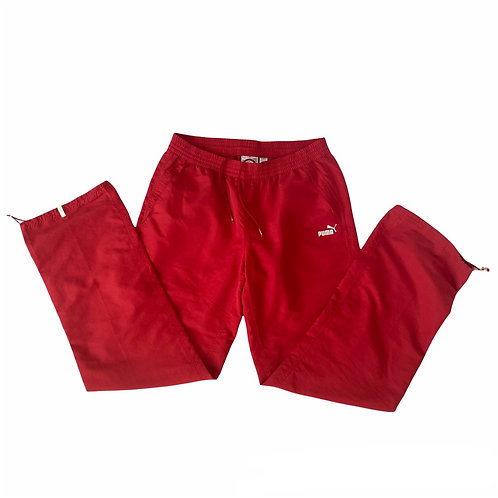 Red Puma Tracksuit Bottoms