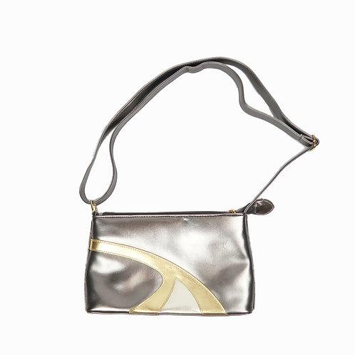Vintage Y2K Silver & Gold Handbag