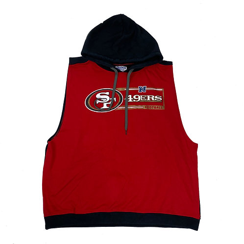 Vintage Retro 49ers Hooded Vest