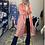 Thumbnail: Vintage Waterproof Peachy Retro Long Jacket