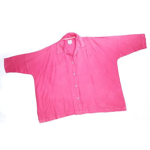 Vintage Oversized Pink Shirt