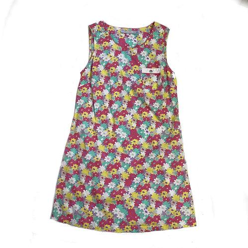 Vintage Retro Floral Shift Dress