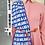 Thumbnail: A-Lab Milano Rare Tassle Monogram Skirt