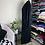 Thumbnail: Full Length Black Button Up Coat