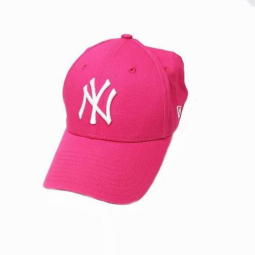 Hot Pink New York Yankees Baseball Cap