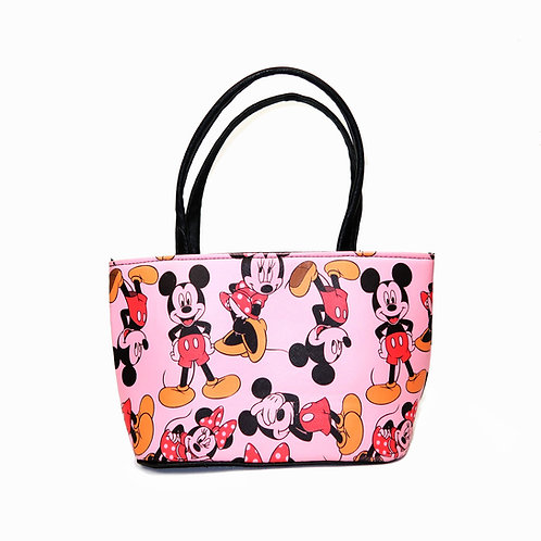 Vintage Pink Mickey Mouse Mini Handbag