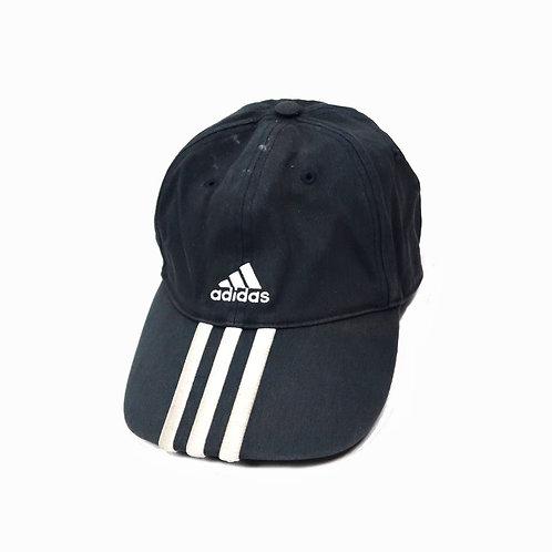 Vintage Navy/Grey 3 Stripe Adidas Baseball Cap