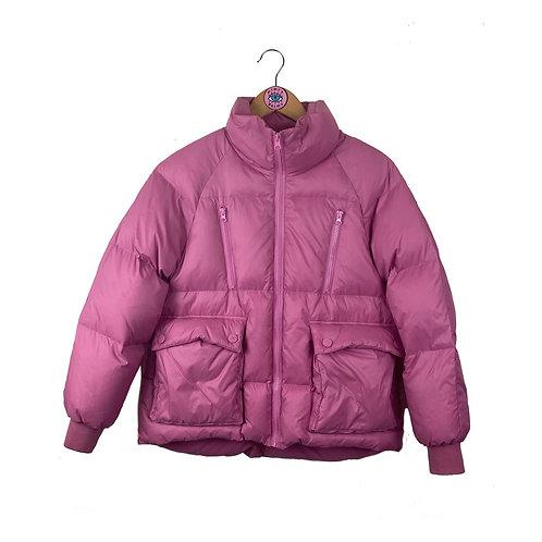 Bubblegum Pink Puffa Jacket