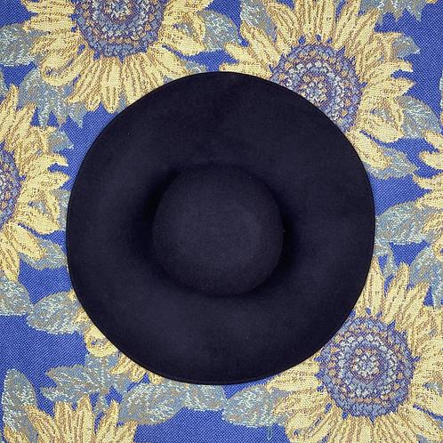 Big Oversized Floppy Black Hat