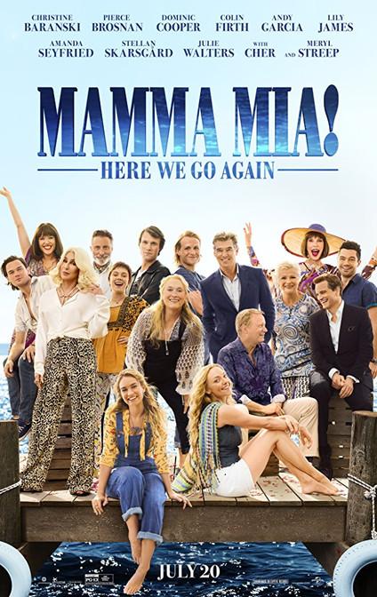 Mamma Mia! Here we go again - 3.5/5