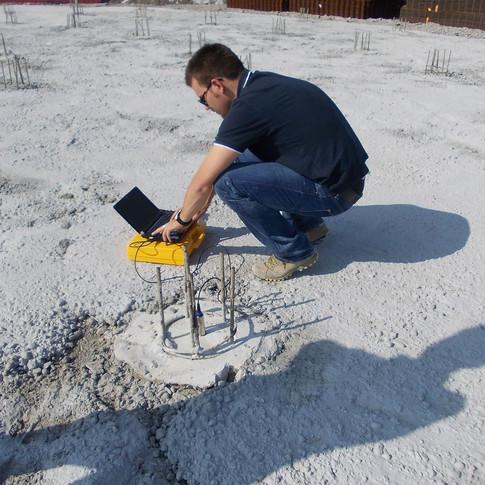 Prove ecometriche su pali di fondazione