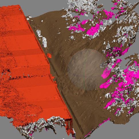 Ricostruzione tridimensinale di nuvola di punti da ortofoto