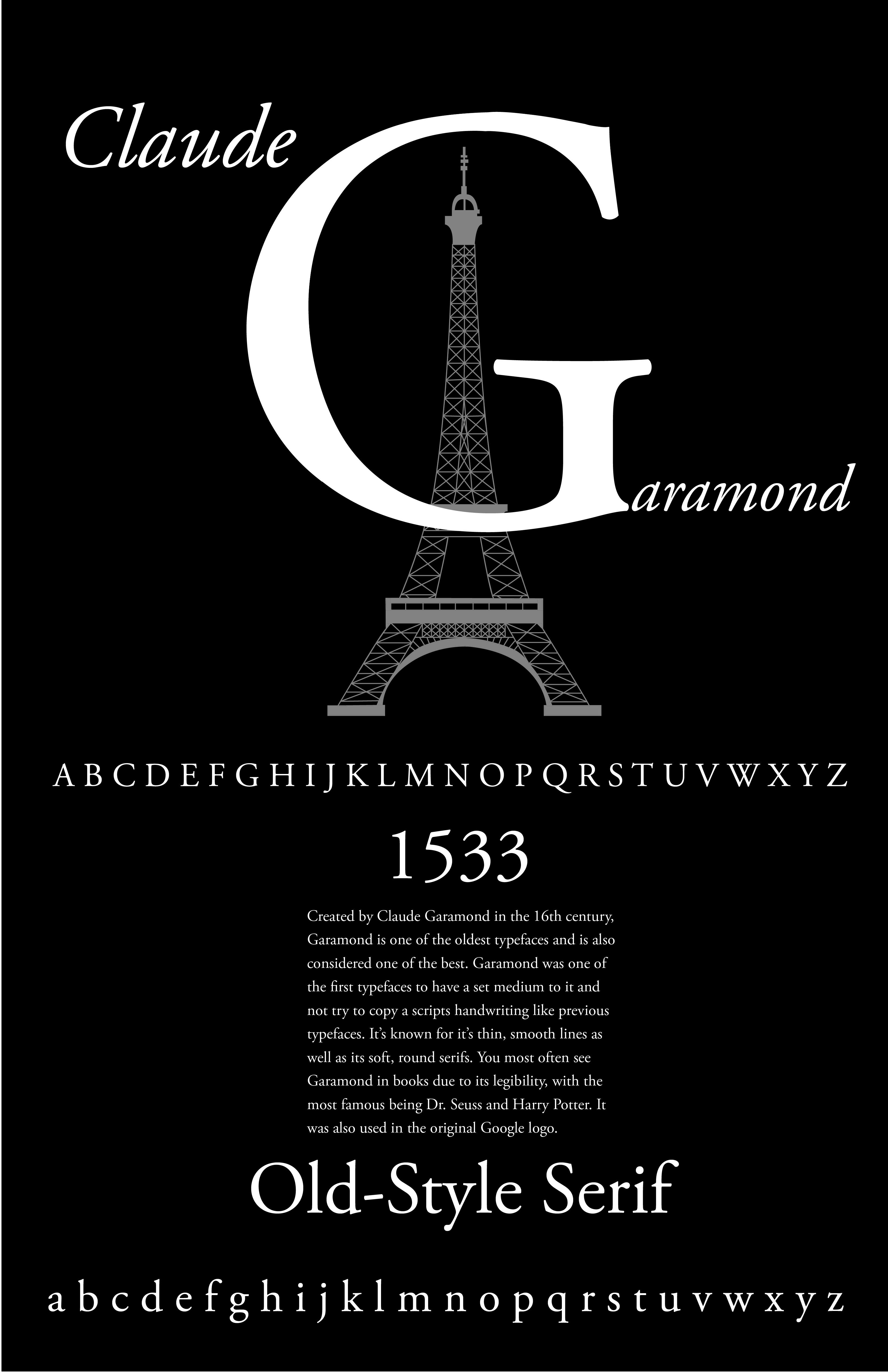 Garamond Type History