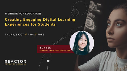 Reactor Webinar Vol6 Digital Learning Ex