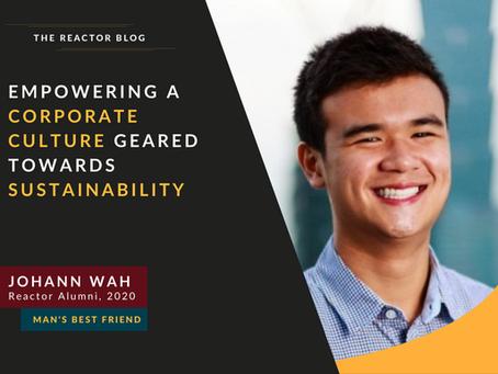 [Reactor Alumni] Empowering a Corporate Culture Geared Towards Sustainability