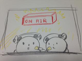 ラジオでおしゃべりします。。