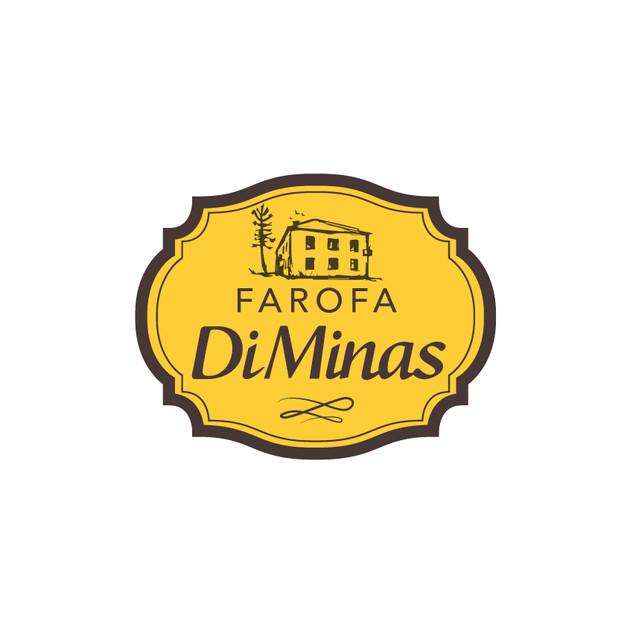 Criação de logo Farofa Di Minas