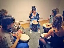 Clases de percusión afriana