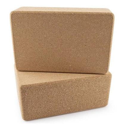 Pilates & Yoga Eco Friendly Cork Block