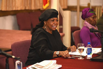 Dr. Ava Muhammad The National Spokesperson for The Honorable Minister Louis Farrakhan!